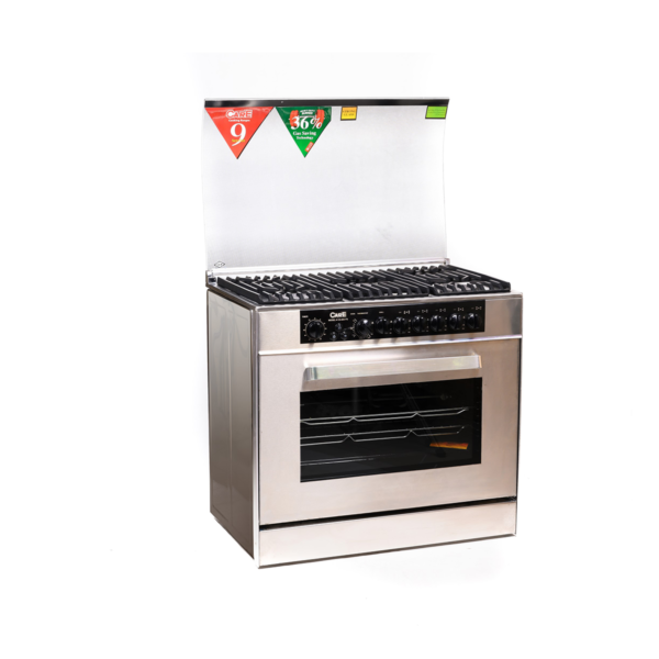CARE COOKING RANGE 603-FS AUTO GLASS TOP FULL STEEL