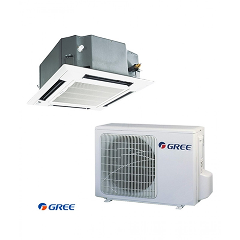 GREE AIRCON CASSETTE INVERTER 1 TON HEAT & COOL GKH-12K3FI