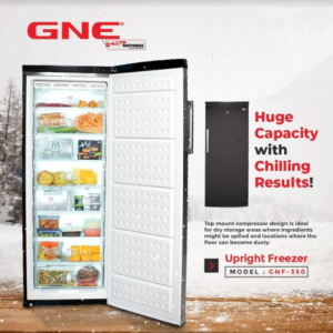 GNE Upright Freezer Model : GNF - 300 DC