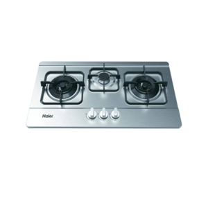 Haier Hob - HCC631DGS (BUILT IN HOB STEEL 3 BURNER)