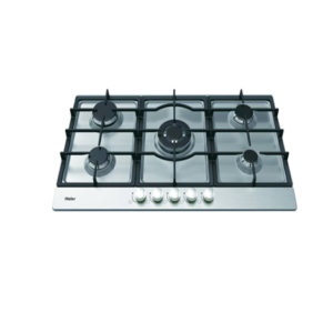 Haier Hob - HCC519DGS (BUILT IN HOB STEEL 5 BURNER)